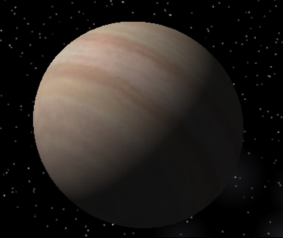Epsilon Eridani b gas giant