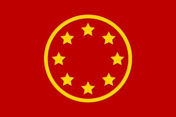 Chinese Federal Flag