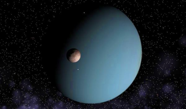 Uranus and Miranda